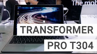 ASUS Transformer Pro T304 Hands On: Another Surface Pro Competitor