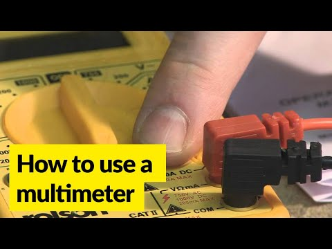 How to use a digital multimeter- Rolson