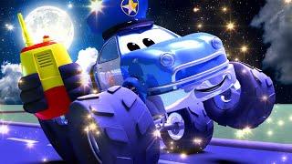 Monster trucks for children - HALLOWEEN : Malcolm, do you copy?  - Monster Town