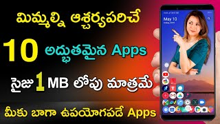 Top 10 Best Android Applications Under 1Mb | Best Storage Saving Apps For Android Phones | Tech Siva