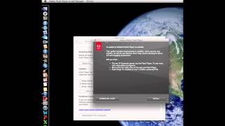 Adobe Flash Player Update Mac OS X