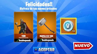 HOW TO GET THE FORTNITE THE AVENGERS FREE THOR PACK