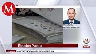 Miguel Barbosa es un cartucho quemado: Marko Cortés