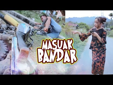 Lawak Minang 2018 Dinda Gonyek - Masuak Bandar