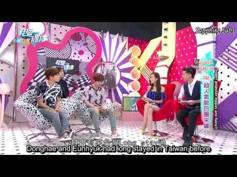 [ENG SUB] HD I Love Idols - Donghae and Eunhyuk - EP1 Part ONE