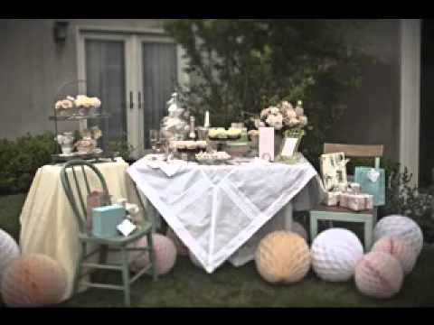 Vintage Baby Shower Decorations Ideas