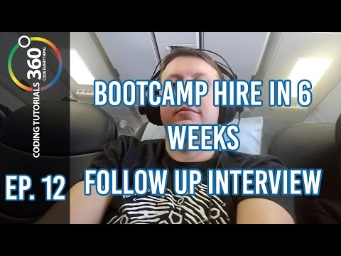 Bootcamp Hire in 6 Weeks: Behind the Code Episode 12 ft. Nic