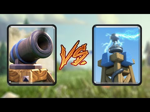 Cannon Vagy Tesla? | Clash Royale Magyarul