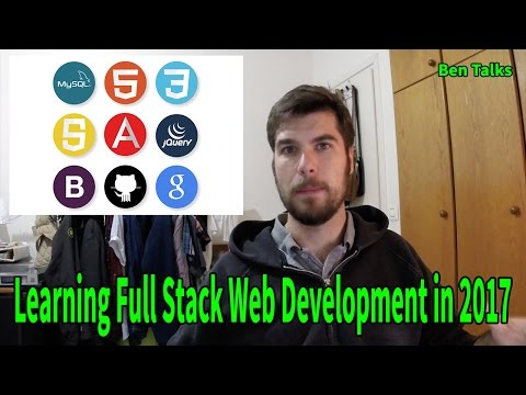 The reasons why I am learning full stack web development in 2017