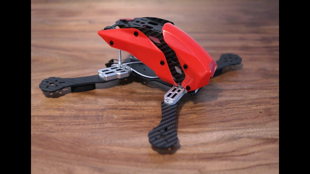 Quadrocopter selber bauen (Drohne) Teil 01: Frame / Rahmen - Tarot TL280C  Carbon Fiber FPV Racer