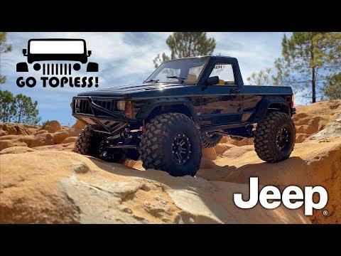 Custom Jeep Pickup (Comanche) course ride!