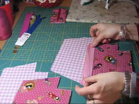 Nairamkitty crafts tutorial como poner una cremallera - Como hacer pachwork ...