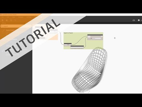 Dynamo Basics for Fusion - Importing Fusion Geometry, Manipulating it, Export back to Fusion