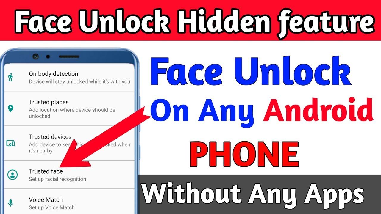 Face Unlock hidden feature on any Android Phone || Face Unlock Hidden trick  | Technical ikka