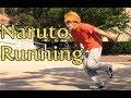 Naruto Running on The Main Quad of My University