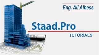 Bentley STAAD.PRO V8I Tutorial: Lesson No 1