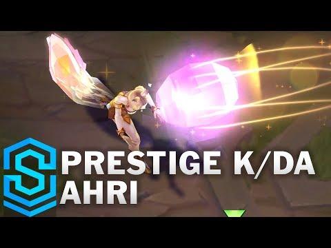 Prestige K/DA Ahri Skin Spotlight - League of Legends