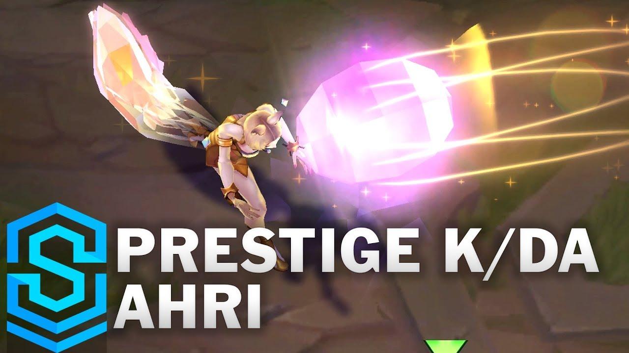Prestige K Da Ahri Skin Spotlight League Of Legends Youtube