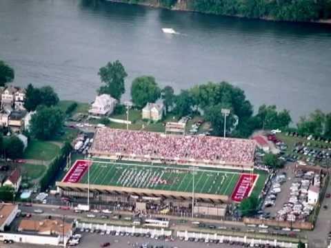 Wheeling Island Stadium Prograss First In Turf Youtube