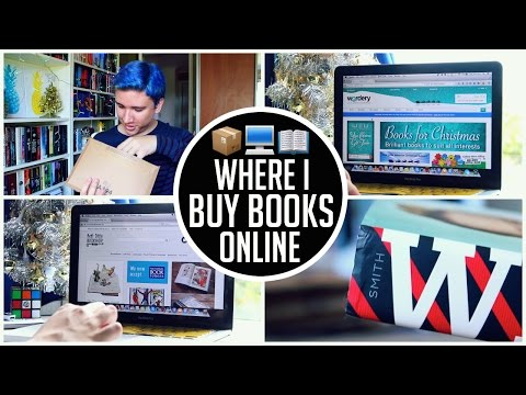 Where I Buy Books Online + Unboxing Book Haul