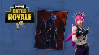 """""""Spray over different Carbide or Omega Posters"""" All Locations - Fortnite / Season 4 Week 6 Challenge"""