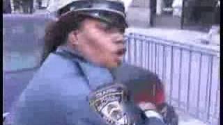 Traffic Cop Makes illegal U-Turn