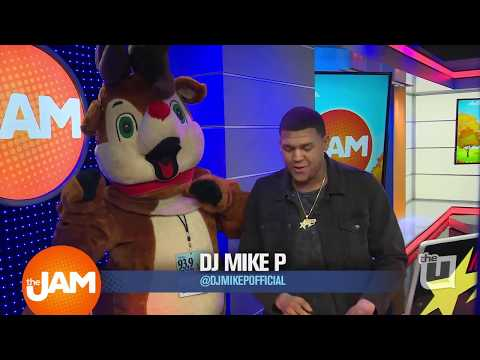 Edison the Reindeer from 939 Lite FM Celebrates Holiday Music Switch