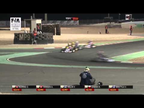 CIK FIA KF WORLD CHAMPIONSHIP ROUND 2 FINAL ITALIANO