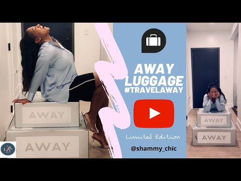Unboxing My Limited Edition Amazing Away Luggage