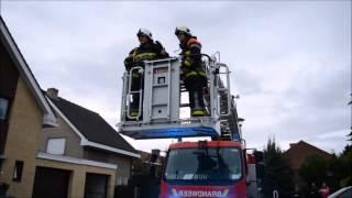 Hvz Fluvia post Kuurne/Harelbeke: schouwbrand Ter Perre