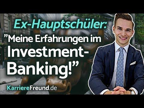 Von Der Hauptschule In's Investment-Banking!