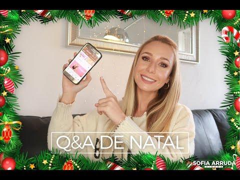 #14 - Perguntas e Respostas (edição de Natal) | Sofia Arruda