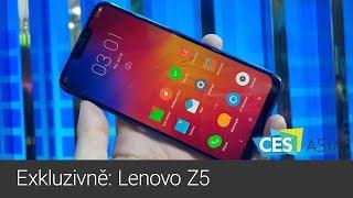 Exkluzivně: vyzkoušeli jsme nové Lenovo Z5