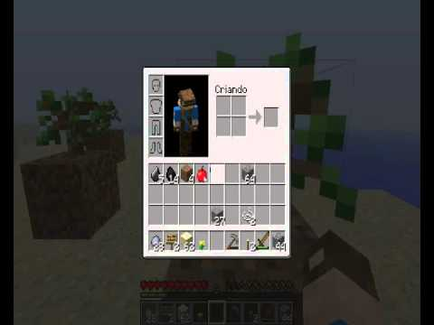 Video de Estreia do Canal - Minecraft Survival Island Parte 1