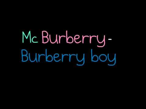 mc burberry   burberry boy