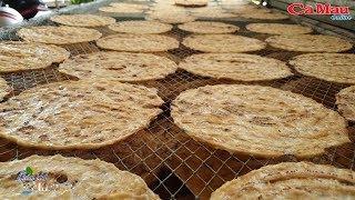 Nghề làm chuối khô ở Trần Hợi