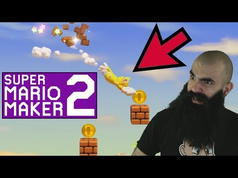 New Tech and Tricks.. Hard Mario Maker 2 Levels