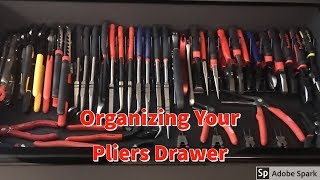 Tool Box Organization Pliers Drawer