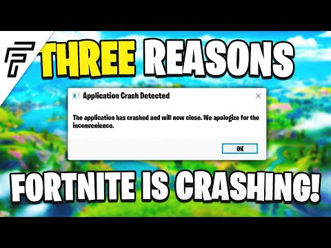 Three Reasons Your Fortnite Is Crashing In Chapter 2 Season 2... (FIX FORTNITE CRASHES & FPS DROPS!)
