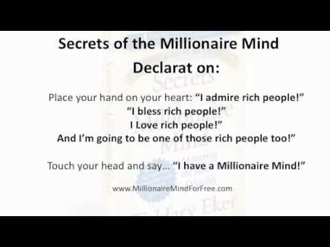 Secrets of the MIllionaire Mind Part 3