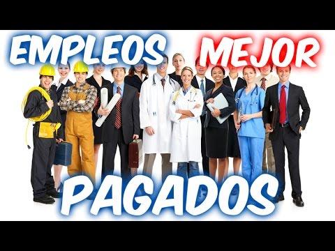 10 EMPLEOS MEJOR PAGADOS ESTADOS UNIDOS