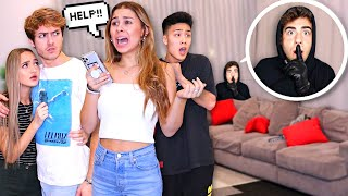 HOME INVASION PRANK ON YOUTUBERS! *BAD IDEA* (Ft. Maddie And Elijah)