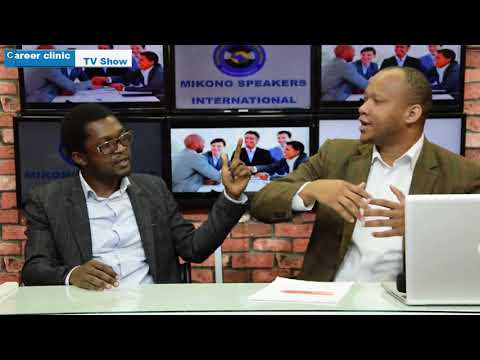 Career Clinic TV Show :Who is a Management Consultant?