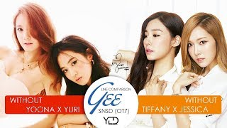 Download Video SNSD (OT7) - Gee | Line Comparison (without Yoona x Yuri vs without Tiffany x Jessica) MP3 3GP MP4