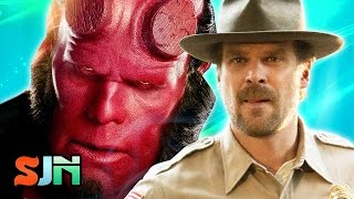 Hellboy Reboot Boots Del Toro, Casts Stranger Things Star