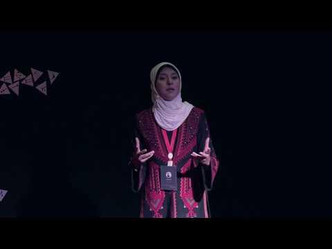 The 50th Granddaughter is Speaking   Isra Almodallal   TEDxUniversityofPalestine