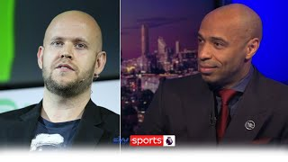 Thierry Henry discusses Daniel Ek's planned takeover of Arsenal | MNF
