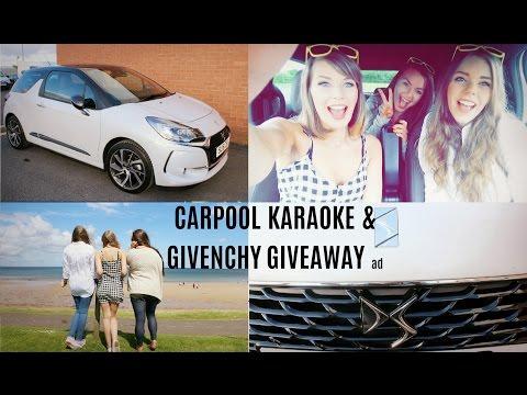 Carpool Karaoke & Givenchy Giveaway! ad