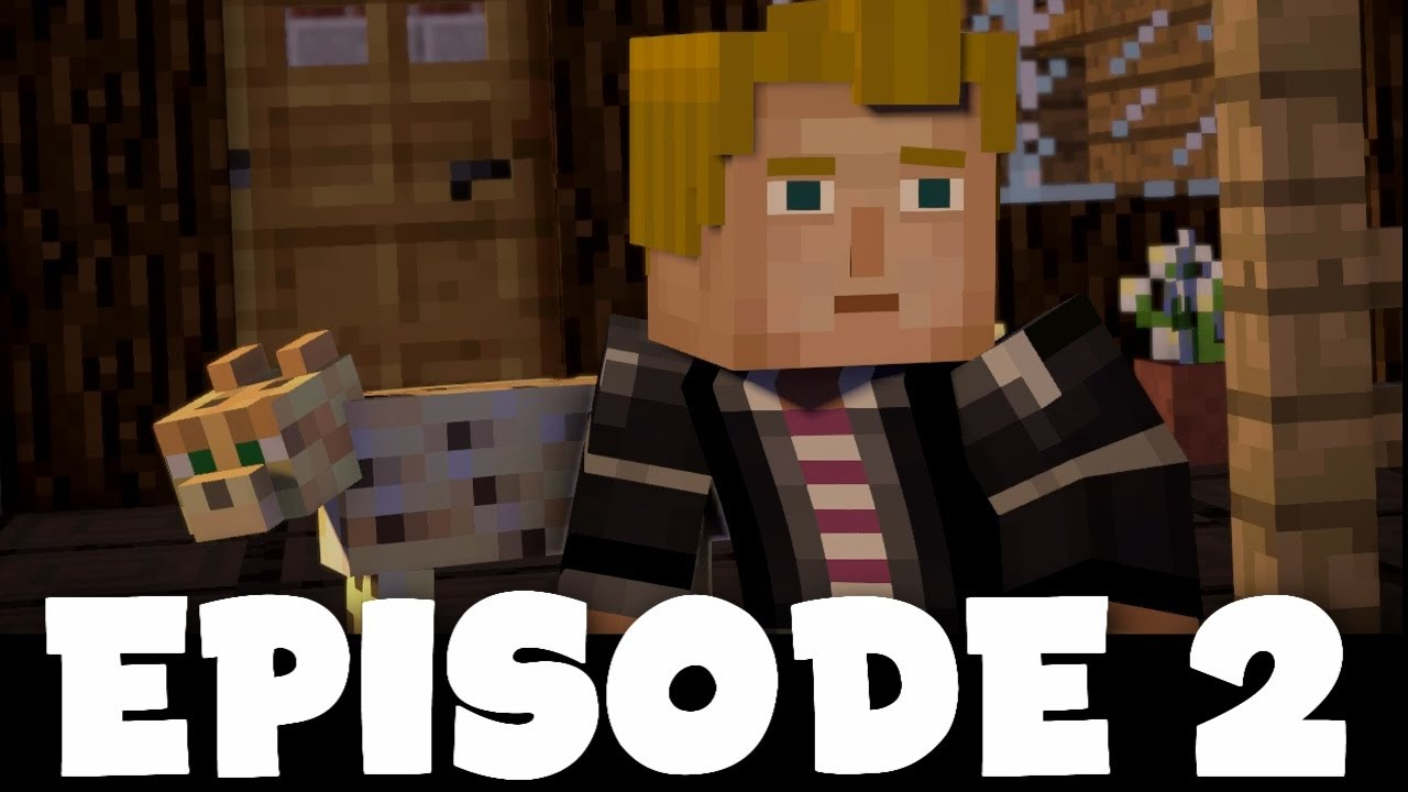 Lukas Is Back Minecraft Story Mode Season 2 Episode 2 Giant