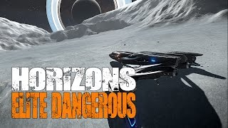 Elite: Dangerous Horizons - My First Planetary Landing